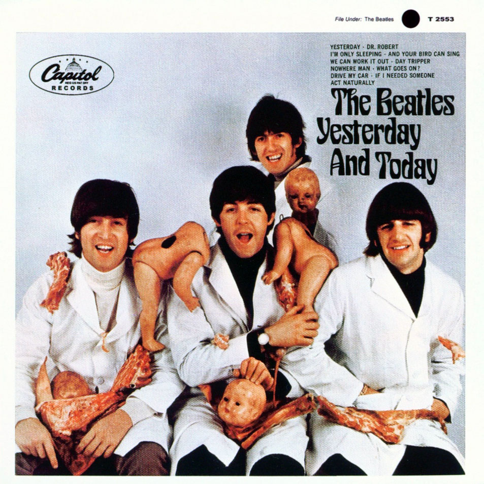 Beatles Yesterday and Today Album Cover